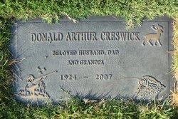 Donald Arthur Creswick
