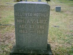 Mrs Annie F Luiz