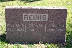 William F Reinig