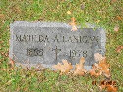 Matilda A Lanigan