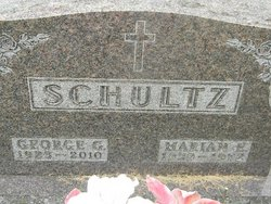 Marian E Schultz