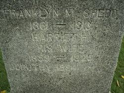 Harriet H <I>Hall</I> Shedd
