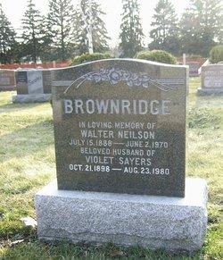 Violet <I>Sayers</I> Brownridge