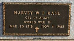 Harvey W. F. Kahl