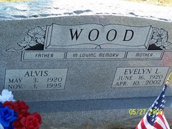 Evelyn Lucille <I>Pitts</I> Wood