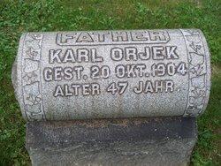 Karl Orjek