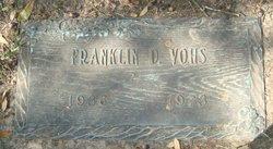 Franklin D Vohs