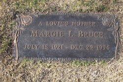 "Margorie Louise ""Margie"" <I>Murdick</I> Bruce"