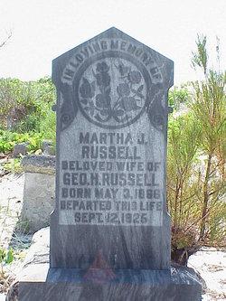 Martha J Russell
