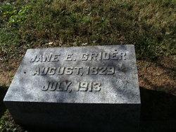 Jane E Grider