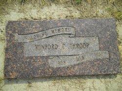 "Minford Cornell ""Mink"" Throop"