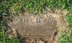 Robert Dexter Adams