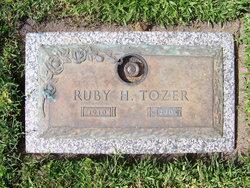 Ruby Helen <I>Pugh</I> Tozer