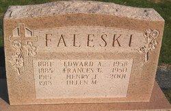 Frances G Faleski