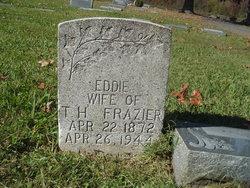 "Edna ""Eddie"" <I>Hallcome</I> Frazier"