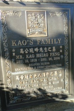 Hsias Feng Kao