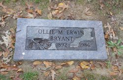 Ollie May <I>Null</I> Bryant