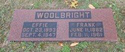 Effie Irene <I>McIntire</I> Woolbright