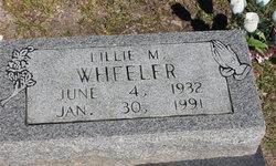 Lillie M. Wheeler