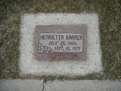 Henrietta Tingen <I>Bragonje</I> Barker