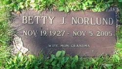 Betty Jane <I>Farrell</I> Norlund