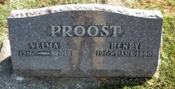 Velma B <I>Schmalfeldt</I> Proost