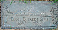 "Edsel B. ""Red"" Sims"