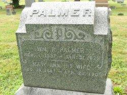 Mary Ann <I>Silvernail</I> Palmer