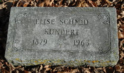 Elise <I>Schmid</I> Kundert