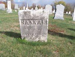 Hannah <I>Wood</I> Conger