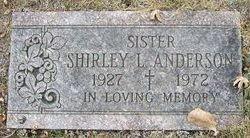 Shirley Lorraine Anderson