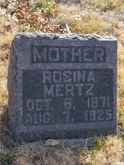 Rosina <I>Koepplin</I> Mertz