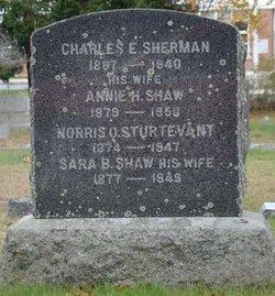 Sara Bartlet <I>Shaw</I> Sturtevant