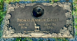 """Thomas Andrew """"Tommy"""" Gault"""