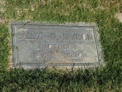 Ella G. Hyson