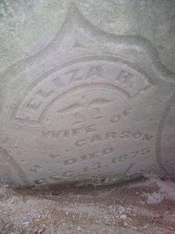 "Elizabeth ""Eliza"" <I>Higginson</I> Carson"
