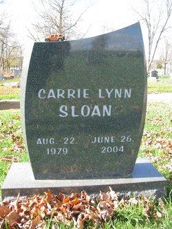 Carrie Lynn Sloan