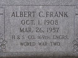 Albert C Frank