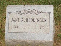 Jane R. <I>Harper</I> Heddinger