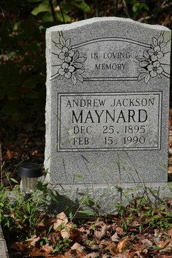 Andrew Jackson Maynard