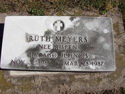Ruth <I>Rispen</I> Meyers