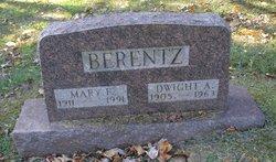 Mary Frances <I>Albrecht</I> Berentz