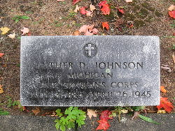 Pvt Luther D Johnson