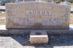 """Arnold Laddis """"Lattie"""" <I>Brooks</I> Adams"""