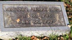 Johnson Albert Rupe