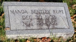 Manda <I>Bentley</I> Rupe
