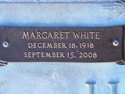 Margaret <I>Nunnery</I> White