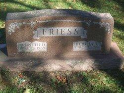 Bertha Geraldine C. <I>Deuel</I> Friess