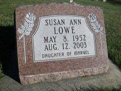 Susan Ann Lowe