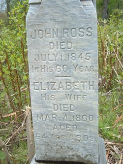 Elizabeth <I>McDaniels</I> Ross